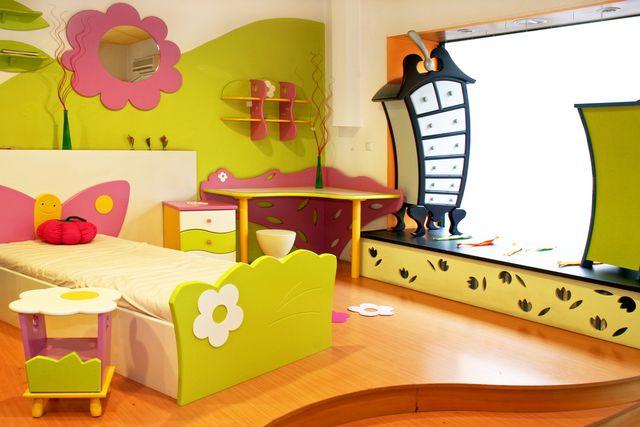 Jak vymalovat dětský pokoj